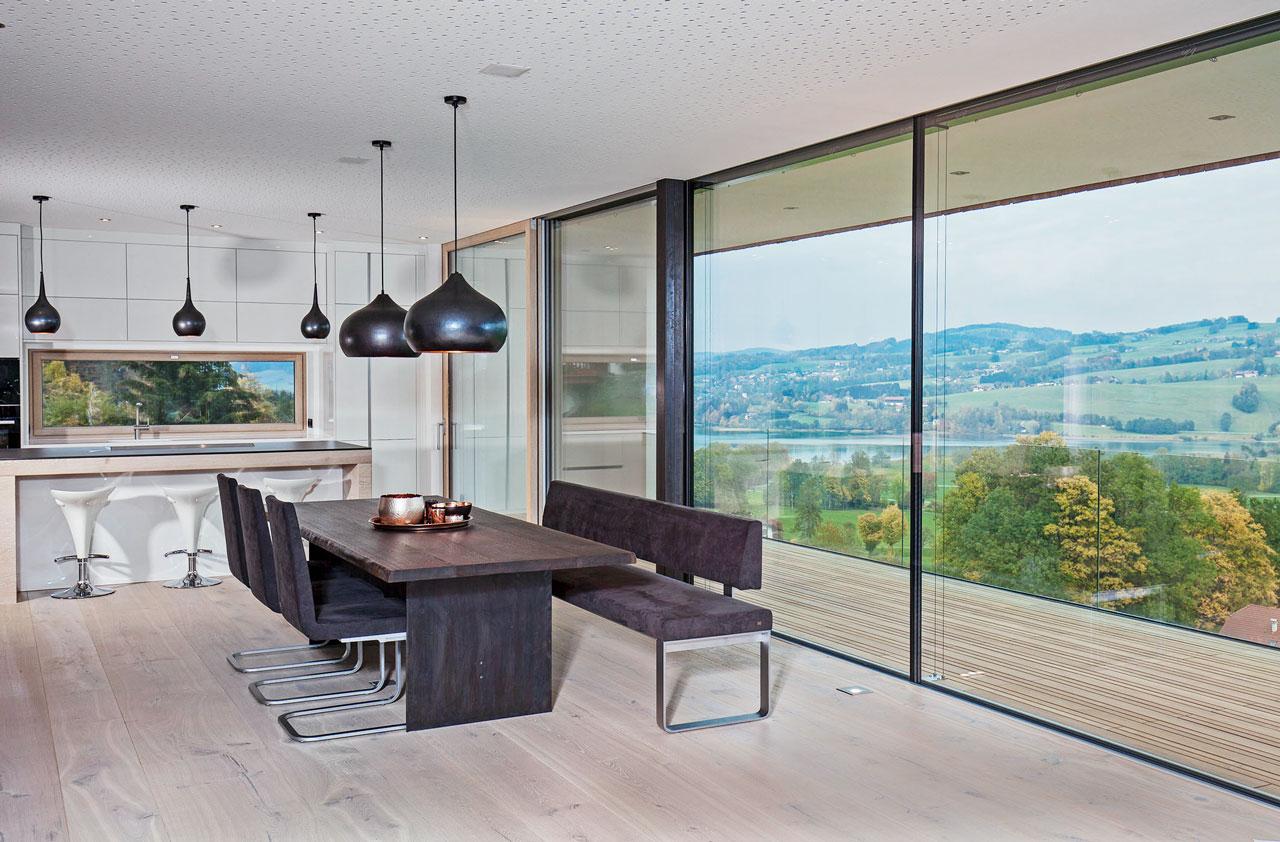 Esszimmer modern great eckbank esszimmer modern with - Esszimmer wohnzimmer aufteilung ...