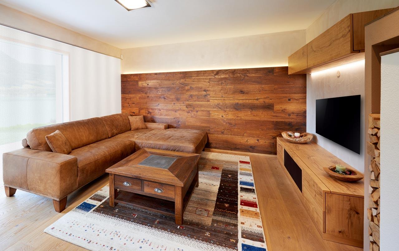 Wohnzimmer - Tischlerei Edtmayer